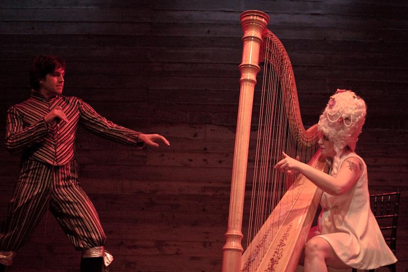 Adam & Mia hit Baroque Pop at Rococo Art party
